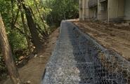 Lakeshore gabion wall (11)