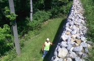 RETAINING WALL - INDIAN HILL (1)